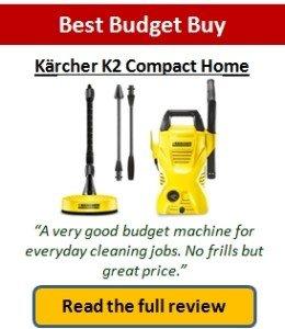 Best budget pressure washer
