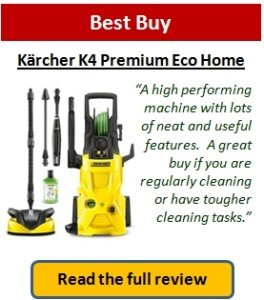 What is the best pressure washer