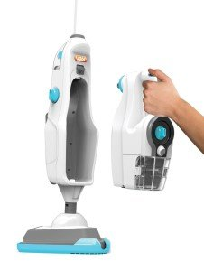 2-in-1 steam cleaner and mop