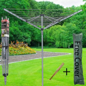 Marko Homewares 4 Arm 40m Rotary Airer