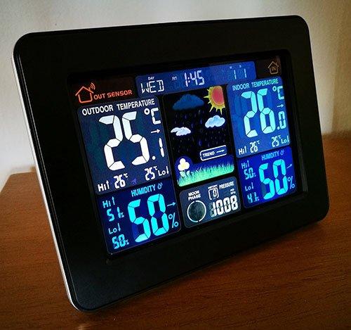 ThinkGizmos weather station